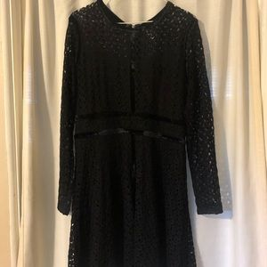 Xhilaration Lace Long Sleeve Dress